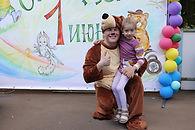Праздник посвященный дню защиты детей прошел в центре Гросско!