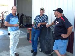 Dave, Steve and Robert