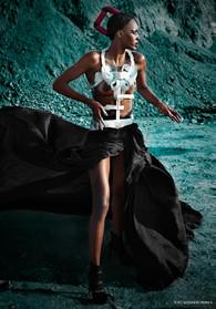 modella di fotografo moda Milano