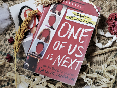 Review One of Us Is Next by Karen M. McManus
