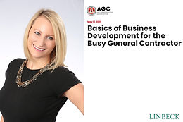 Basics of Business Development for the Busy General Contractor Webinar