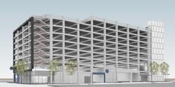 OMS_Garage Frame Option 2_truitt_raun - 3D View - SW PERSPECTIVE