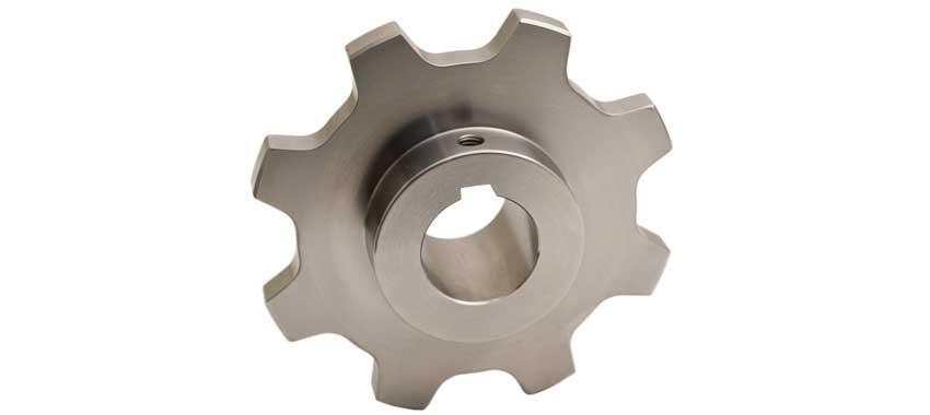 Bandkedjehjul i stål