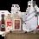 Thumbnail: PACK Kit double beer 2x5l & bottles - AMBER-CHRISTMAS