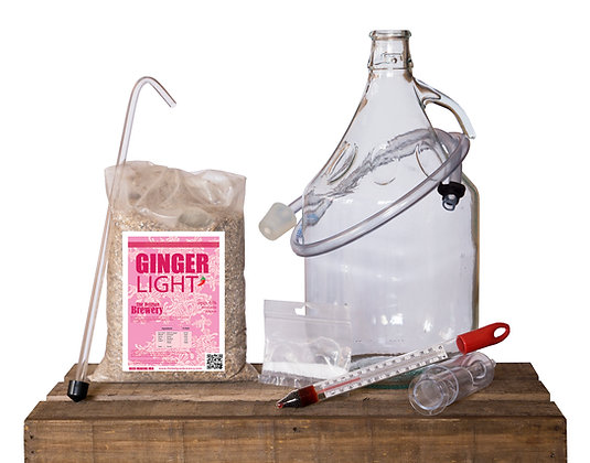 GINGER Light - Home Made beer Kit 5l