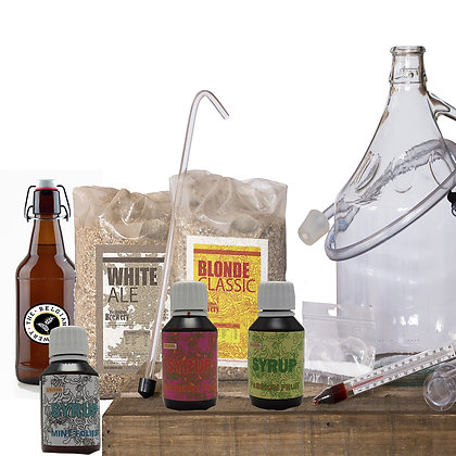 PACK Kit double beer 2x5l, 3TBB Syrups & bottles - BLONDE-BLANCHE White Ale