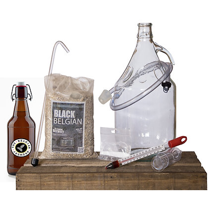 PACK Kit beer 5l & bottles - BLACK Belgian