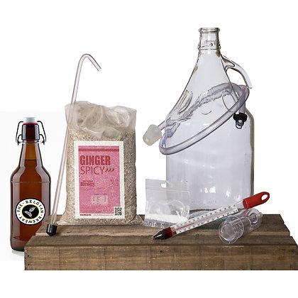 PACK Kit beer 5l & bottles - GINGER SPICY
