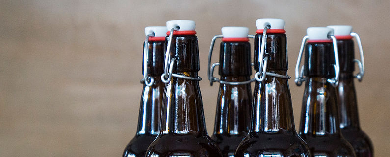 Make your own beer blog picture of home brew bottles