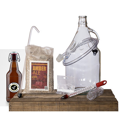 PACK Kit beer 5l & bottles - AMBER ALE