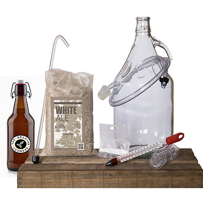 PACK Kit beer 5l & bottles - WHITE ALE