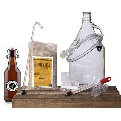 PACK Kit beer 5l & bottles HONEY WHITE HOUSE