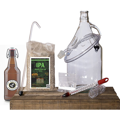 PACK Kit beer 5l & bottles IPA Amber grapefruit