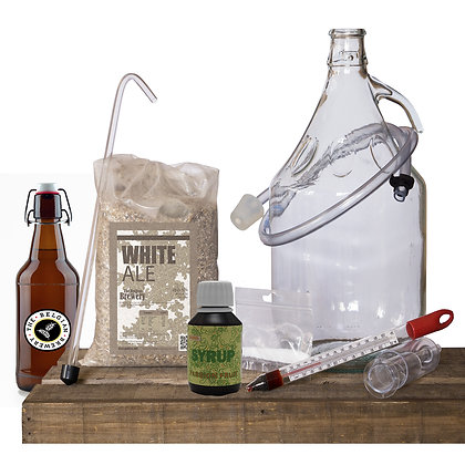 PACK Kit beer 5l, PASSION TBB Syrup & bottles - BLANCHE