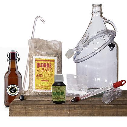 PACK Kit beer 5l, PASSION TBB Syrup & bottles - BLONDE