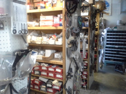 Back room motor part Inventory