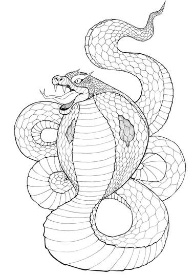 Asian Demons Snake
