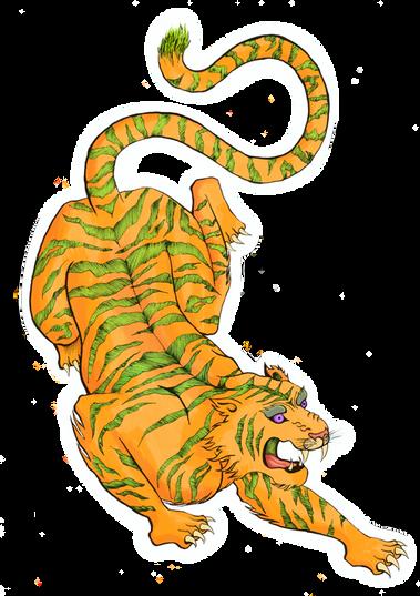 Orange Tiger 1