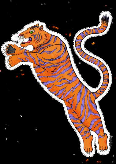 Orange Tiger 2