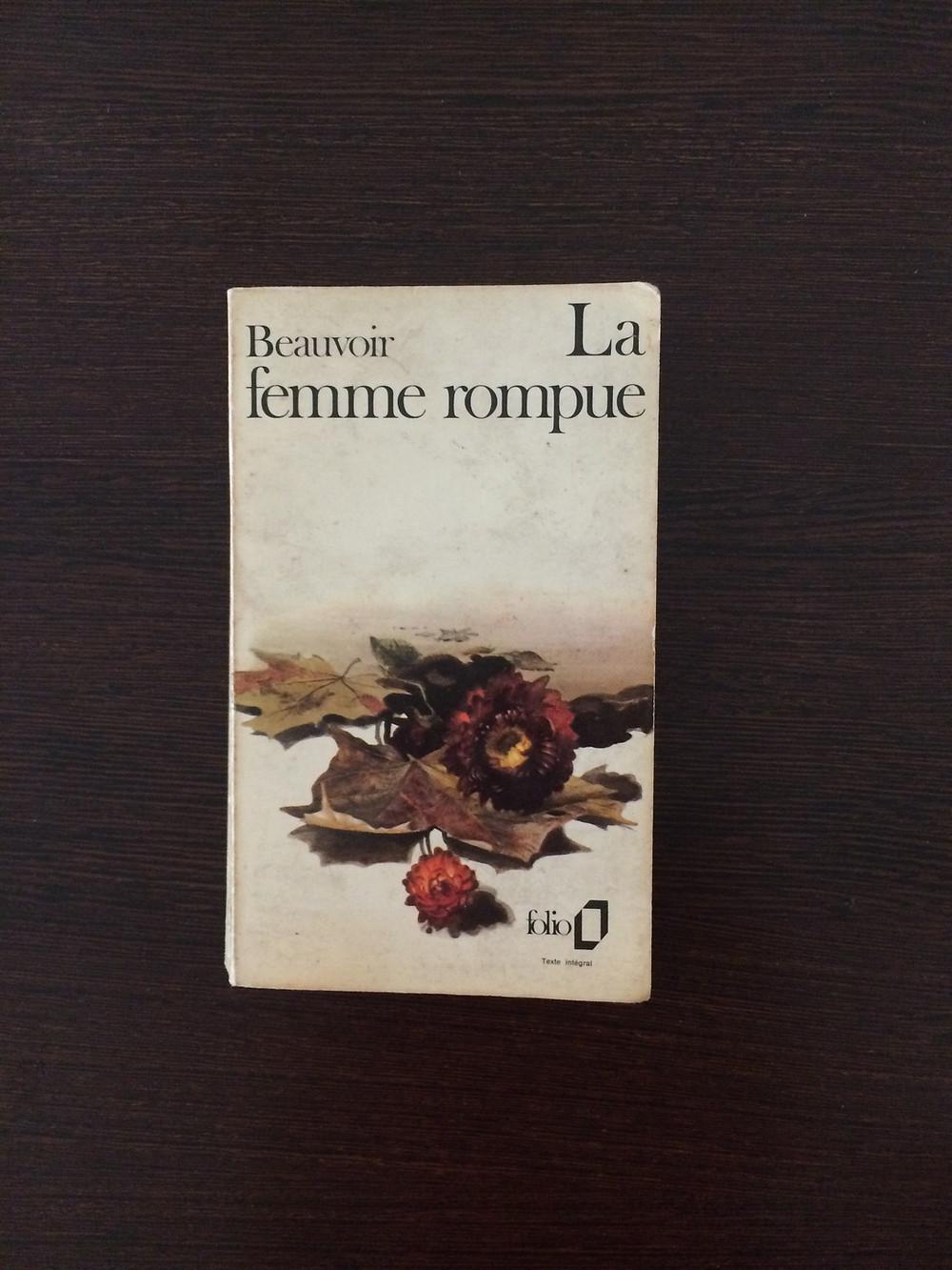 """Photo du livre """"La femme rompue"""" de Simone de Beauvoir (1)"""