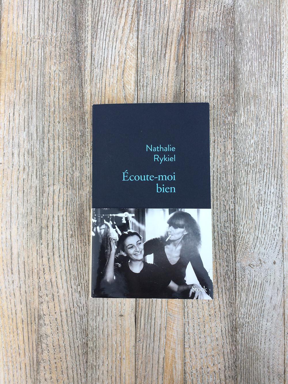 Photo du livre Ecoute-moi bien de Nathalie Rykiel (1)