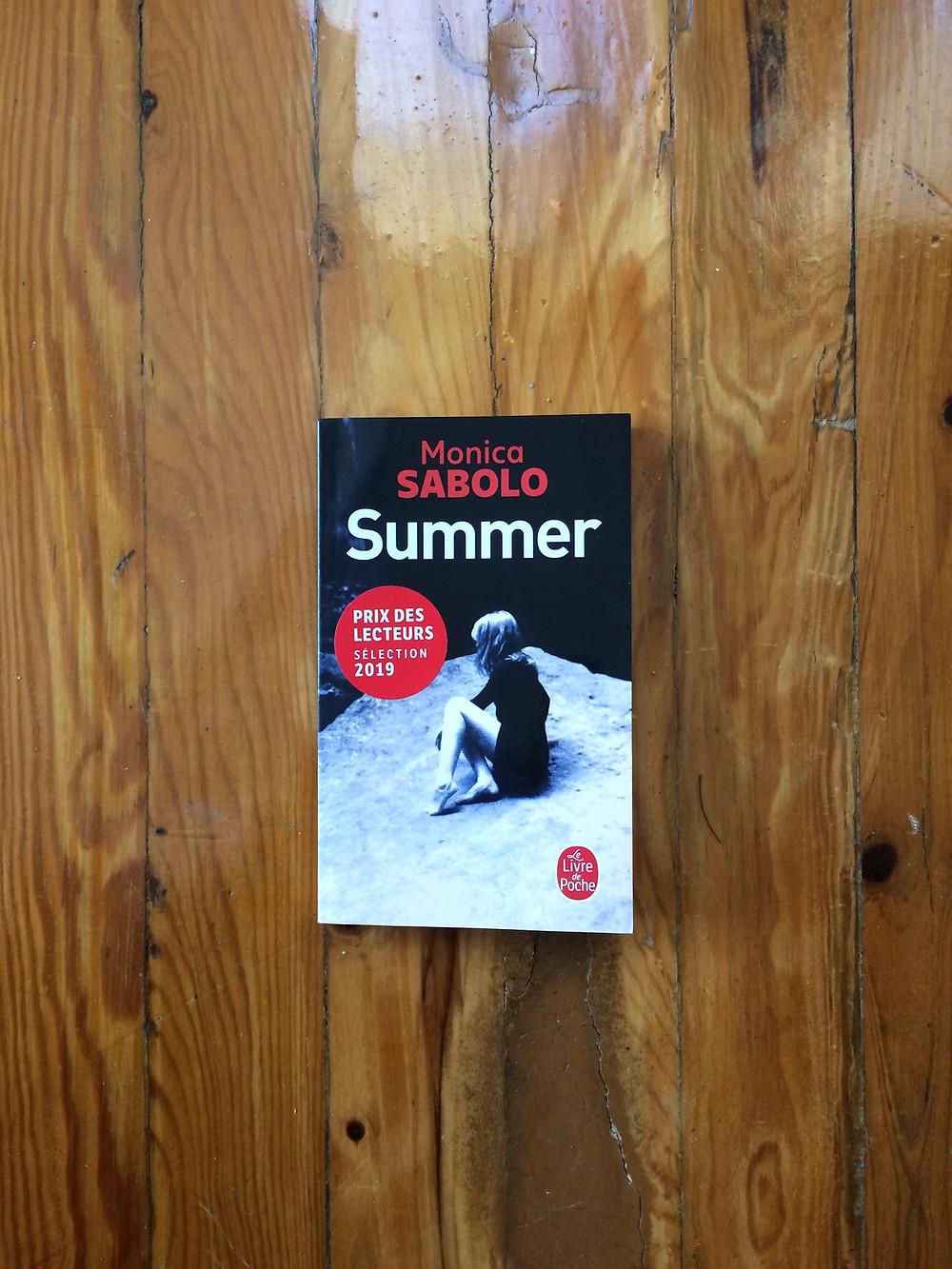"""Photo du livre """"Summer"""" de Monica Sabolo (1)"""