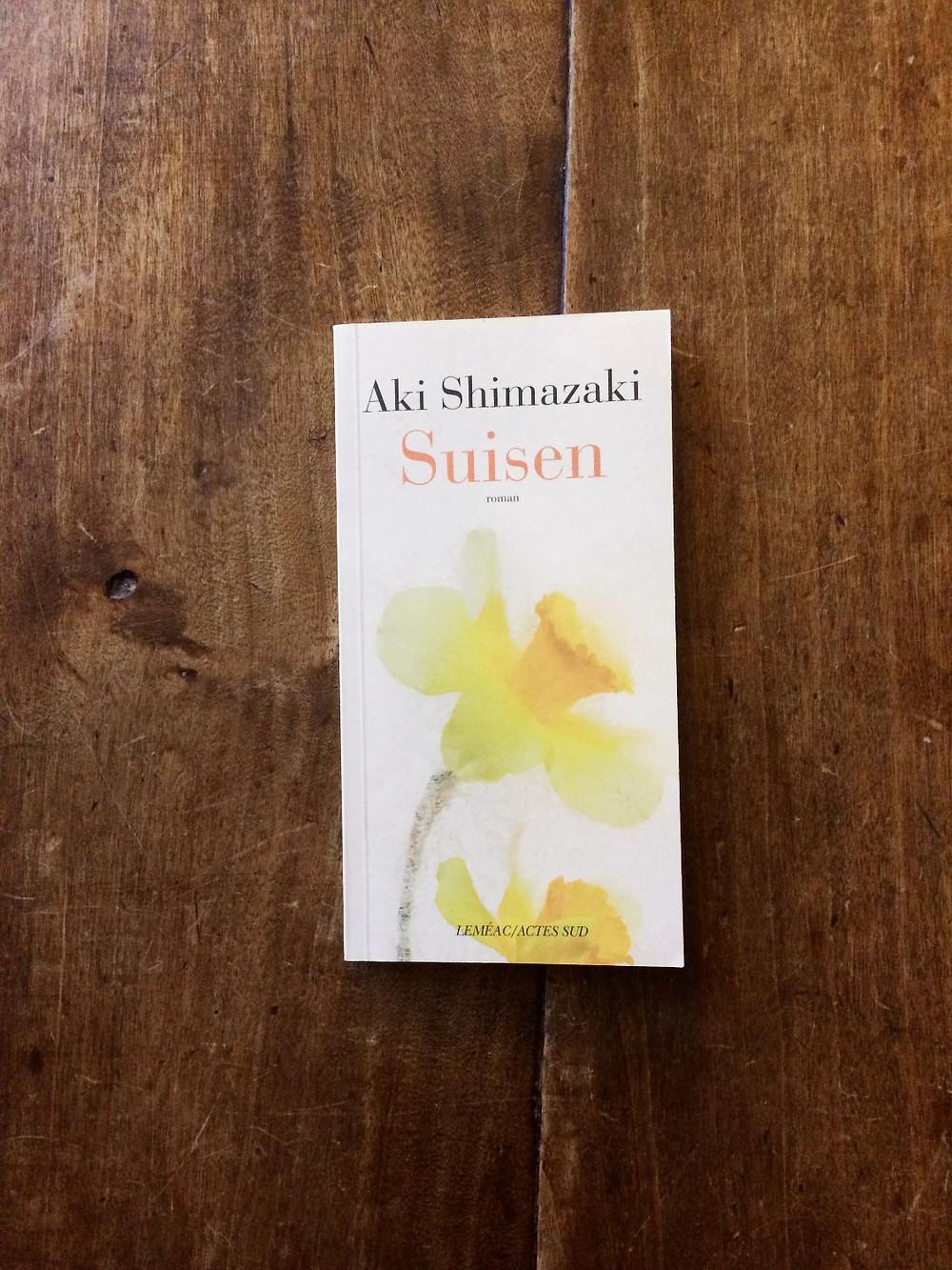 """Photo du livre """"Suisen"""" d'Aki Shimazaki (1)"""