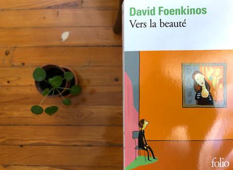 Vers la beauté, David Foenkinos