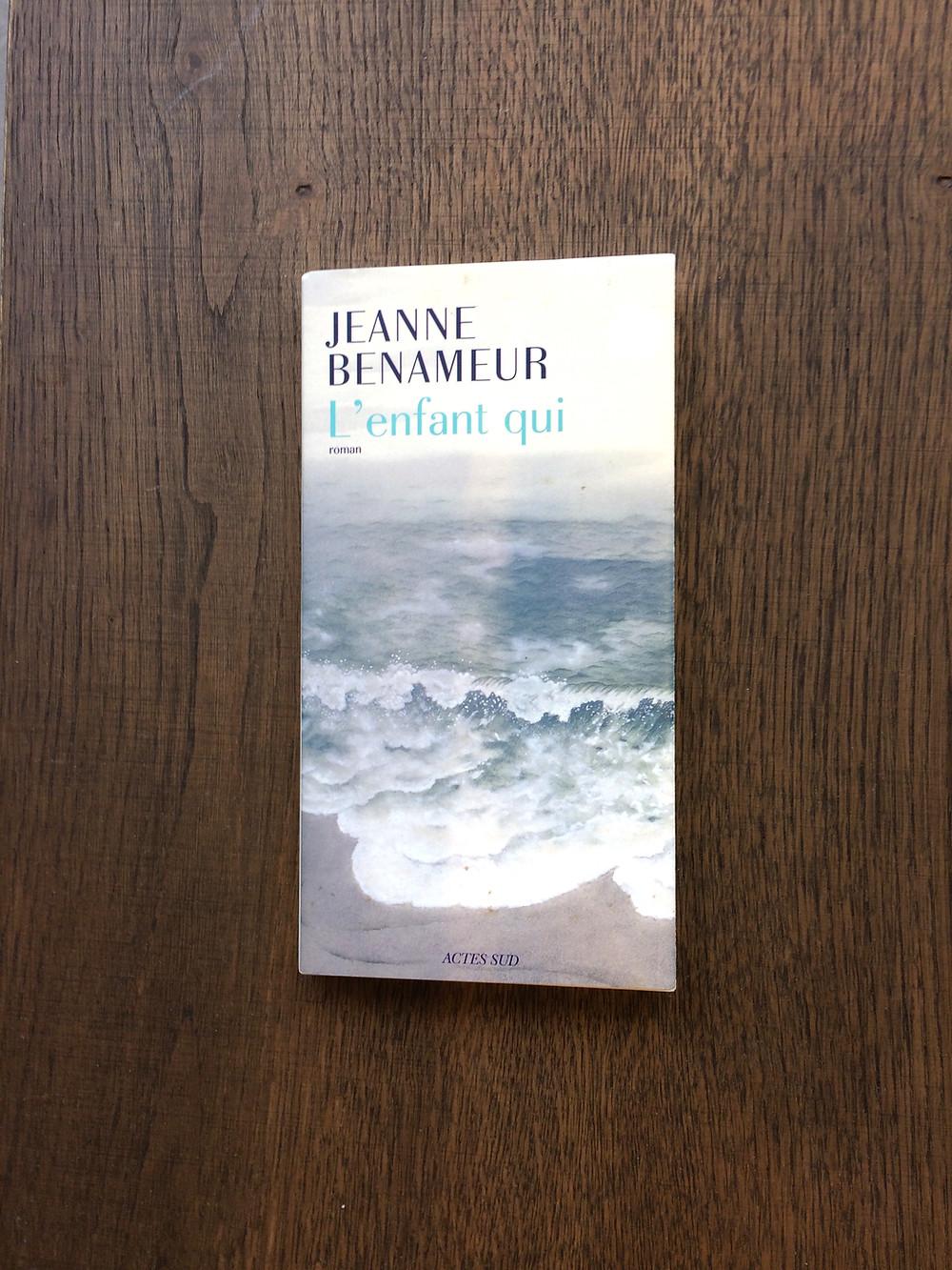Photo du livre L'enfant qui, de Jeanne Benameur (1)