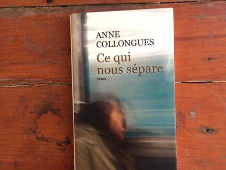 Ce qui nous sépare, Anne Collongues