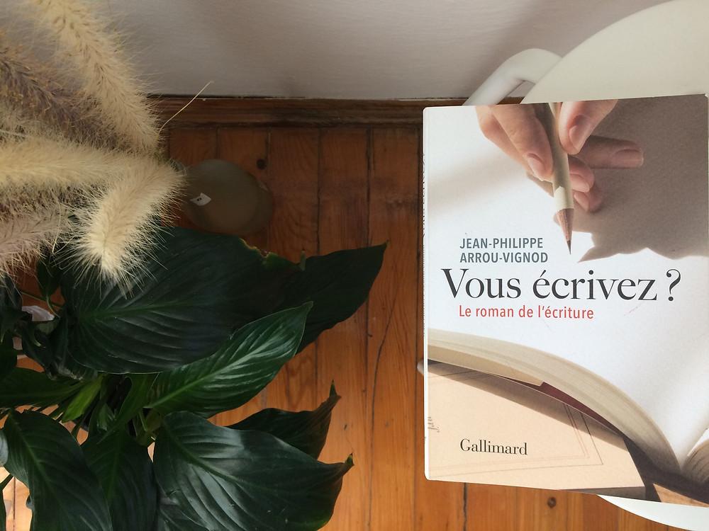 """Photo du livre """"Vous écrivez?"""" de Jean-Philippe Arrou-Vignod (2)"""