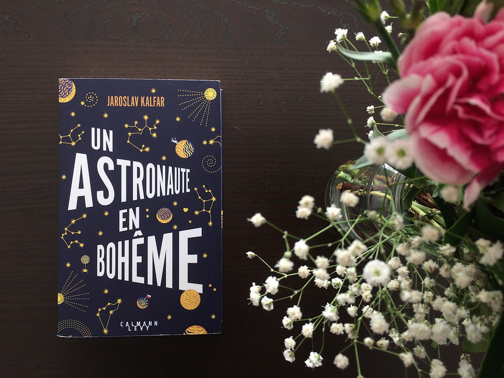 "Photo du livre ""Un astronaute en Bohême"" de Jaroslav Kalfar (2)"
