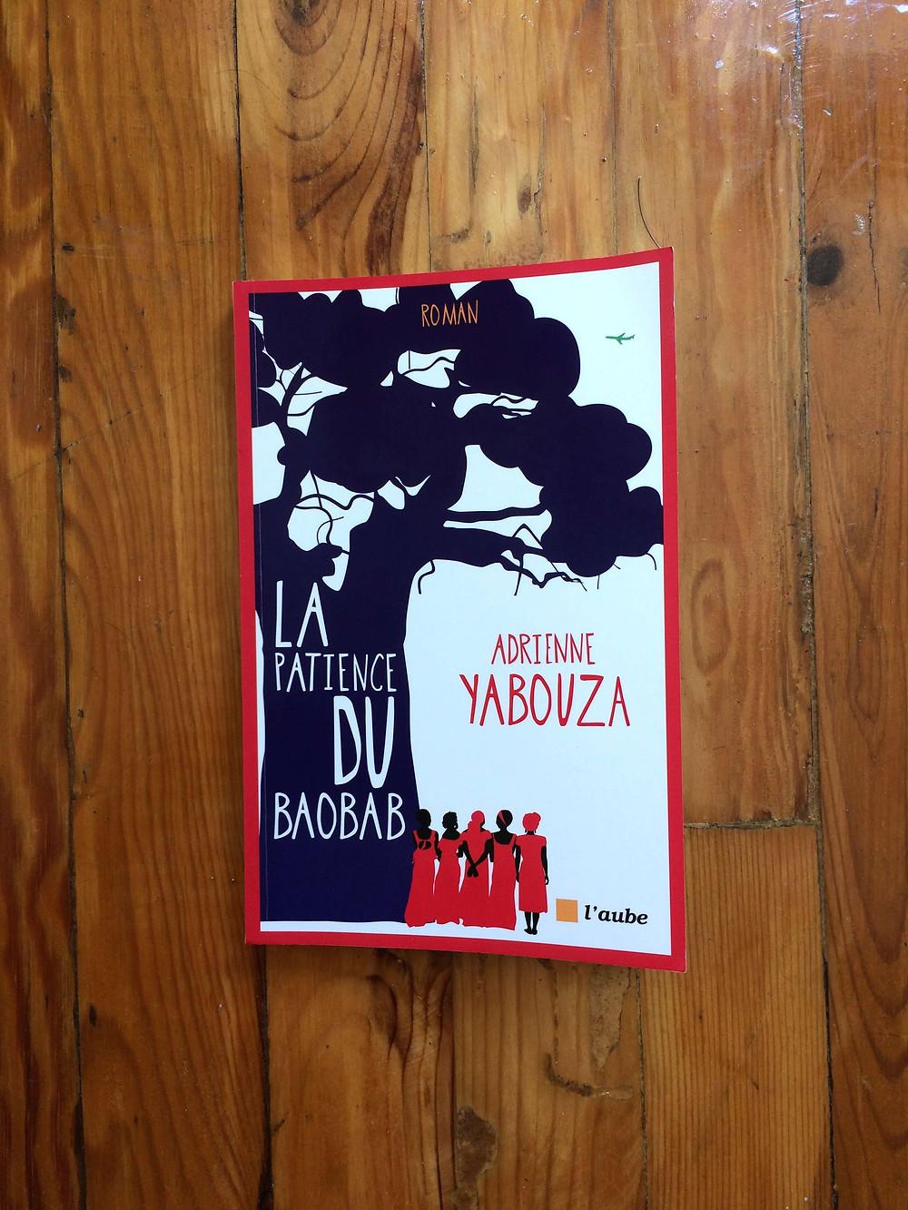"""Photo du livre """"La patience du baobab"""" d'Adrienne Yabouza (1)"""