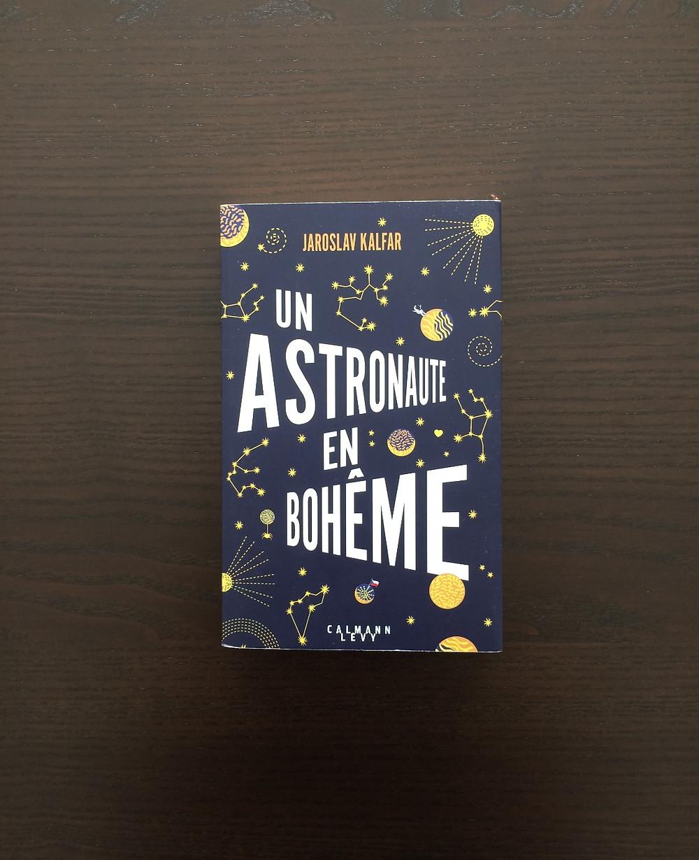 "Photo du livre ""Un astronaute en Bohême"" de Jaroslav Kalfar (1)"