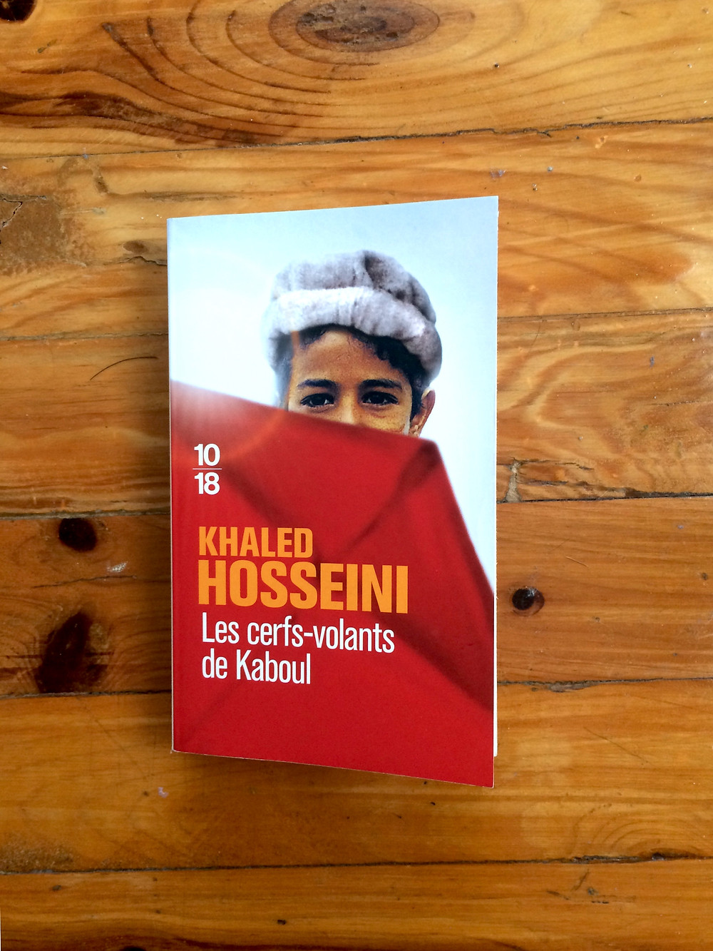 """Photo du livre """"Les cerfs-volants de Kaboul"""" de Khaled Hosseini (1)"""