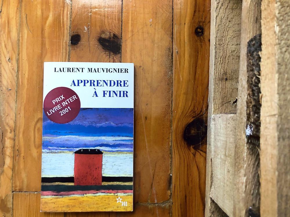 """Photo du livre """"Apprendre à finir"""", de Laurent Mauvignier"""