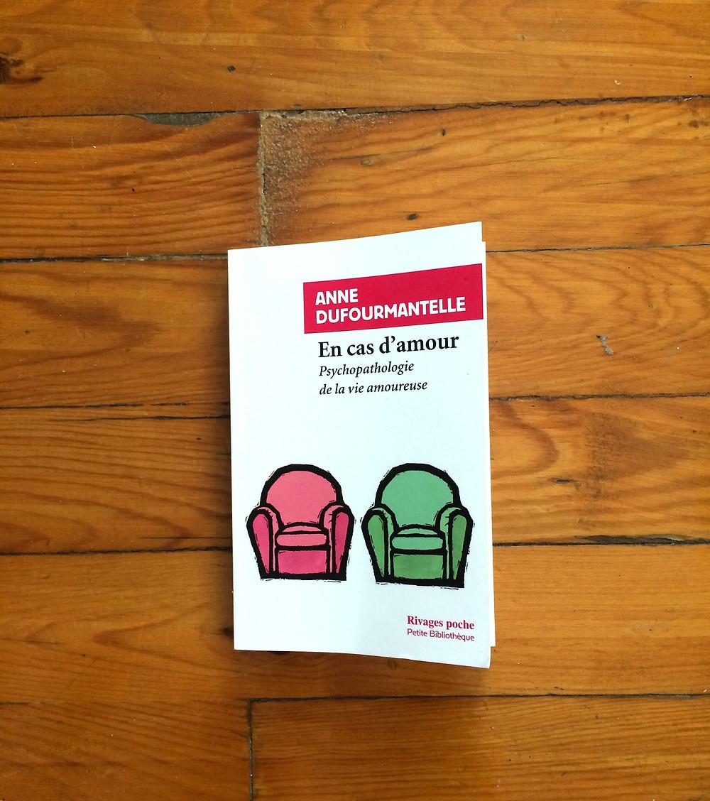 """Photo du livre """"En cas d'amour"""" d'Anne Dufourmantelle (1)"""