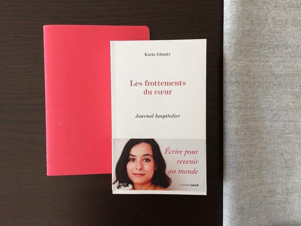 """Photo du livre """"Les frottements du coeur"""" de Katia Ghanty (2)"""