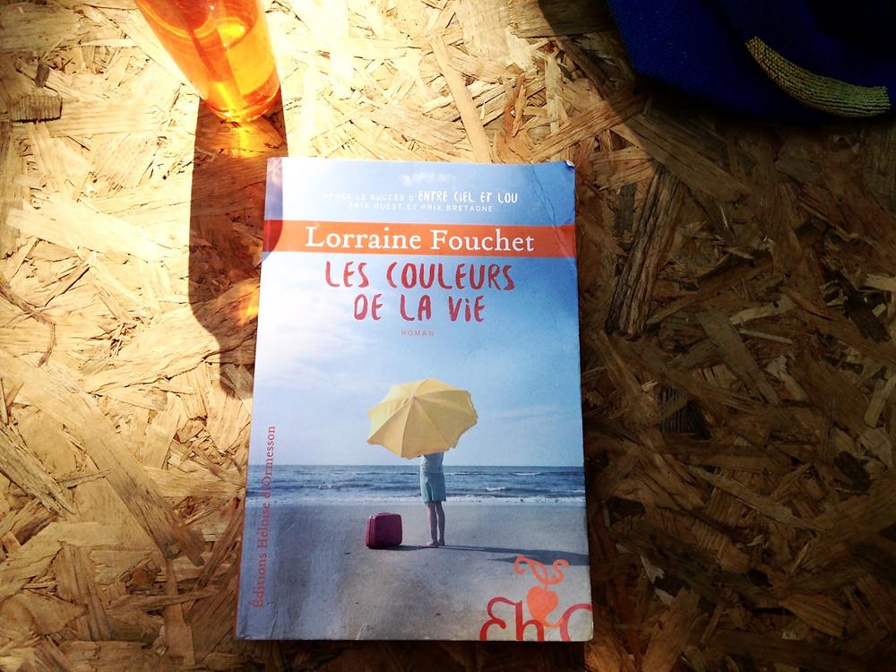 """Photo du livre """"Les couleurs de la vie"""" de Lorraine Fouchet (2)"""