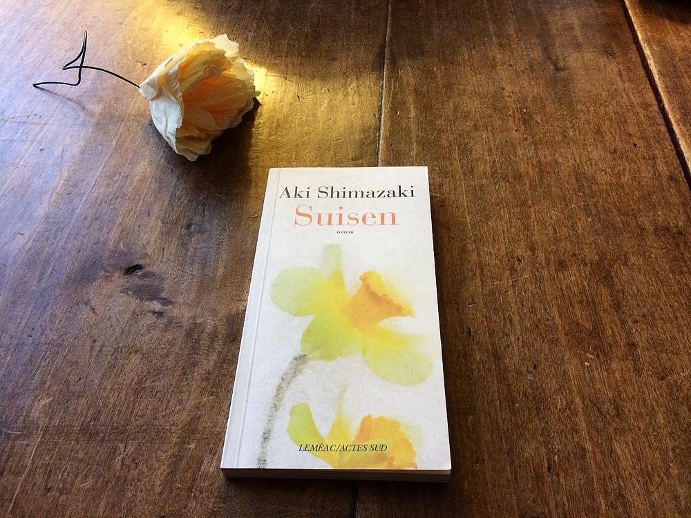 """Photo du livre """"Suisen"""" d'Aki Shimazaki (2)"""