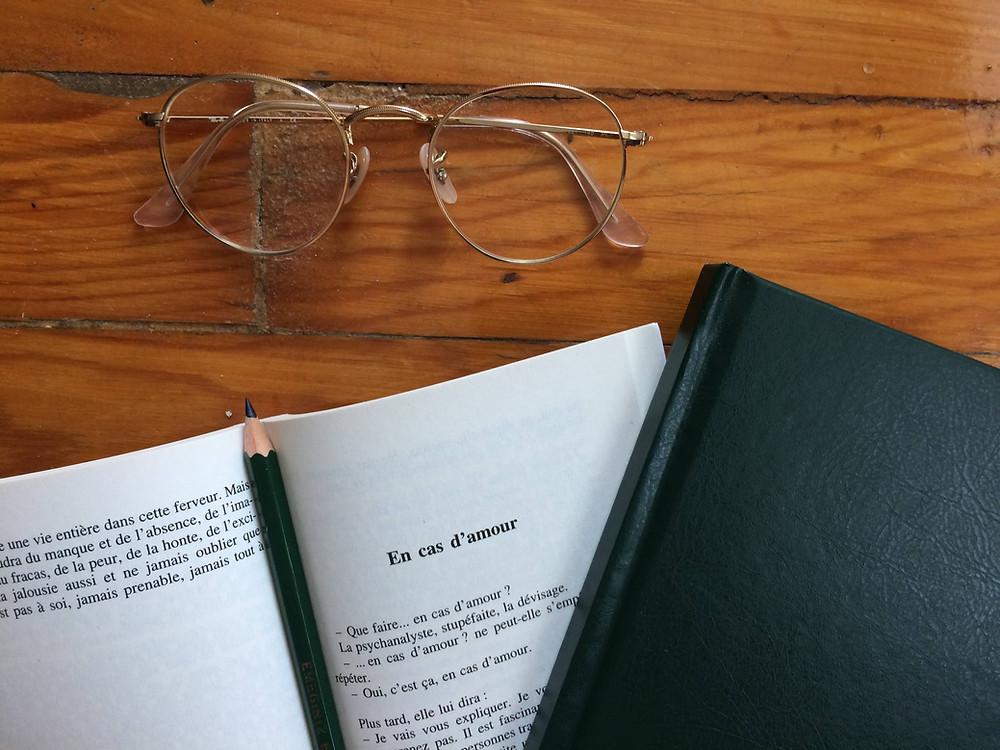 """Photo du livre """"En cas d'amour"""" d'Anne Dufourmantelle (2)"""