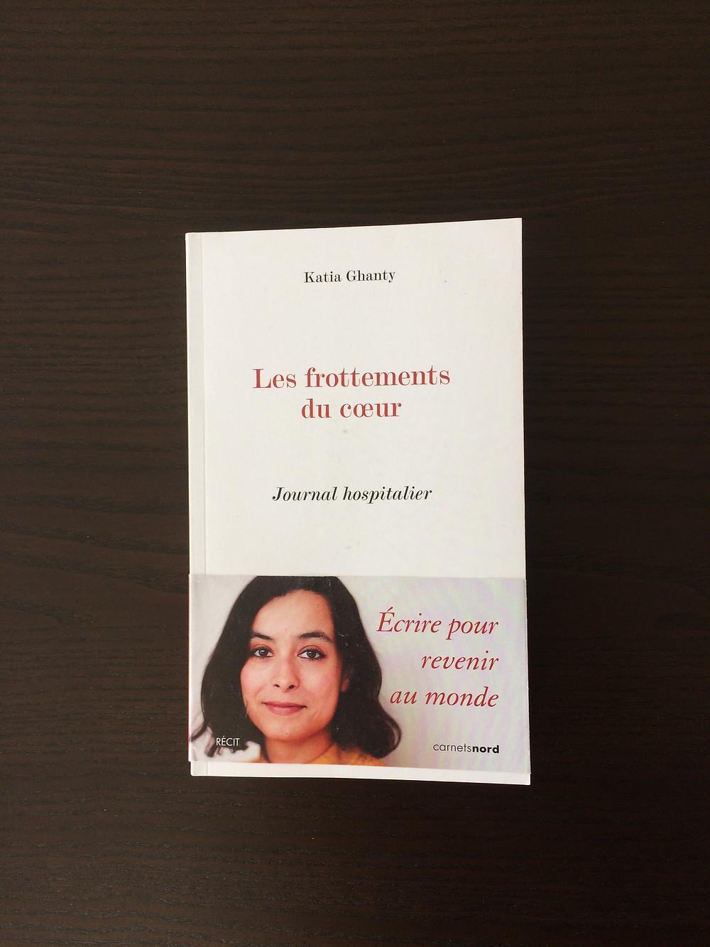 """Photo du livre """"Les frottements du coeur"""" de Katia Ghanty (1)"""