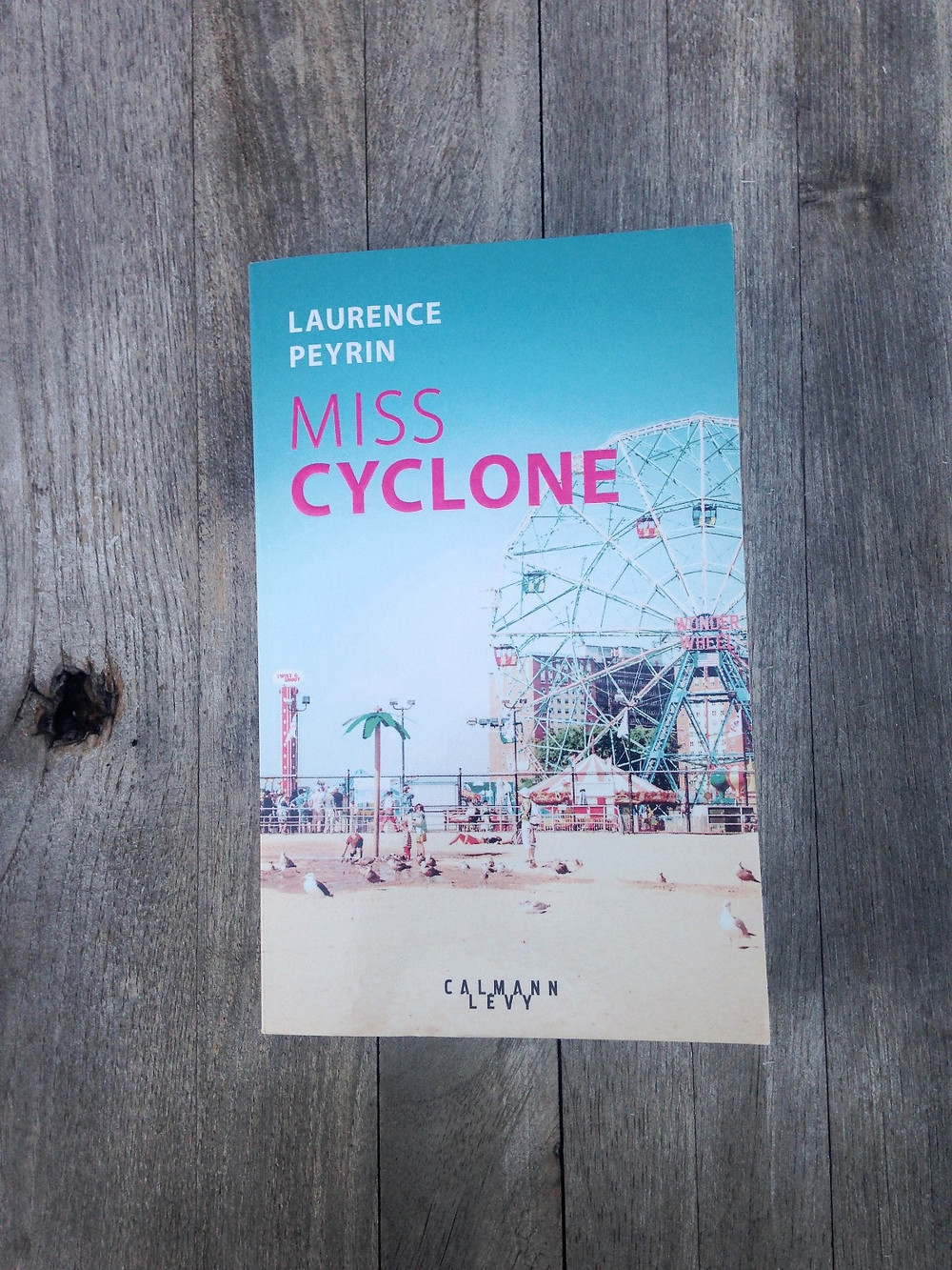 "Photo du livre ""Miss Cyclone"", de Laurence Peyrin (1)"