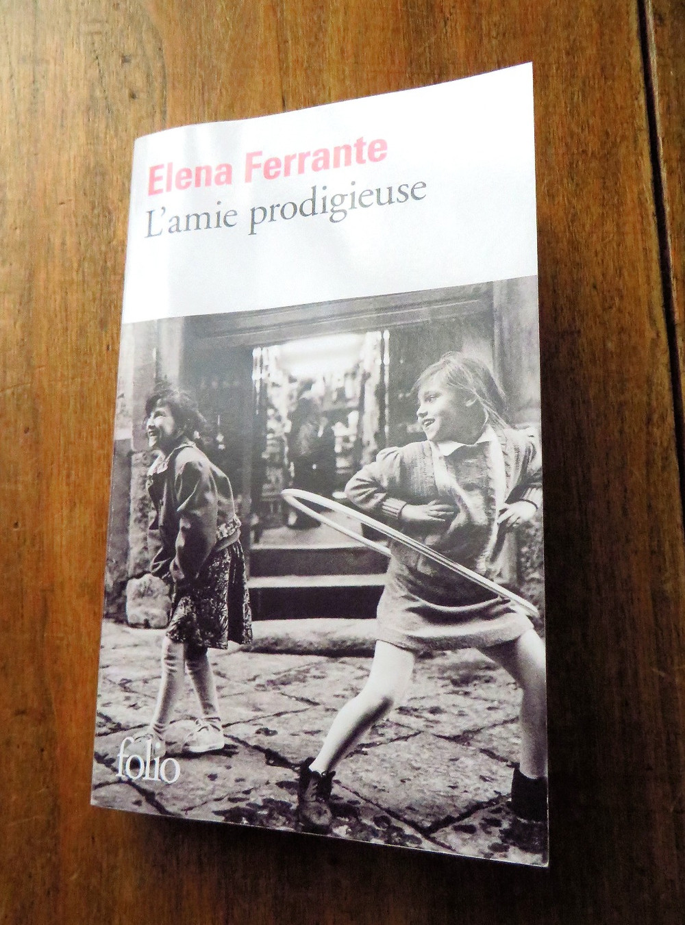 Photo : L'amie prodigieuse, Elena Ferrante