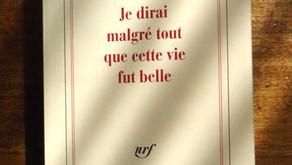 Je dirai malgré tout que cette vie fut belle, Jean d'Ormesson