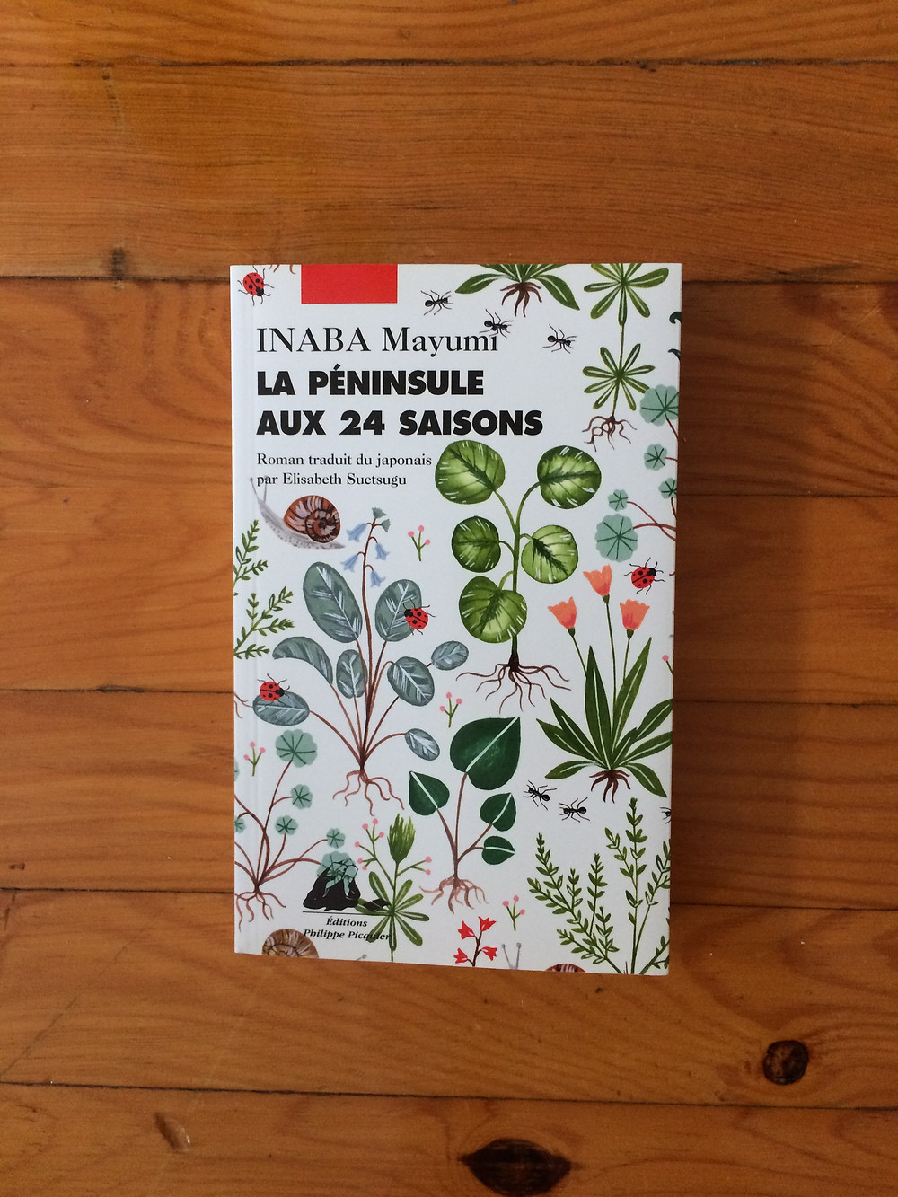 """Photo du livre """"La péninsule aux 24 saisons"""" de Mayumi Inaba (1)"""