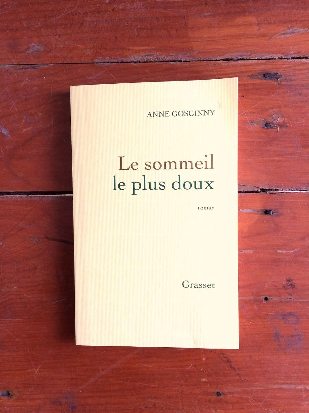 Photo : Le sommeil le plus doux, Anne Goscinny