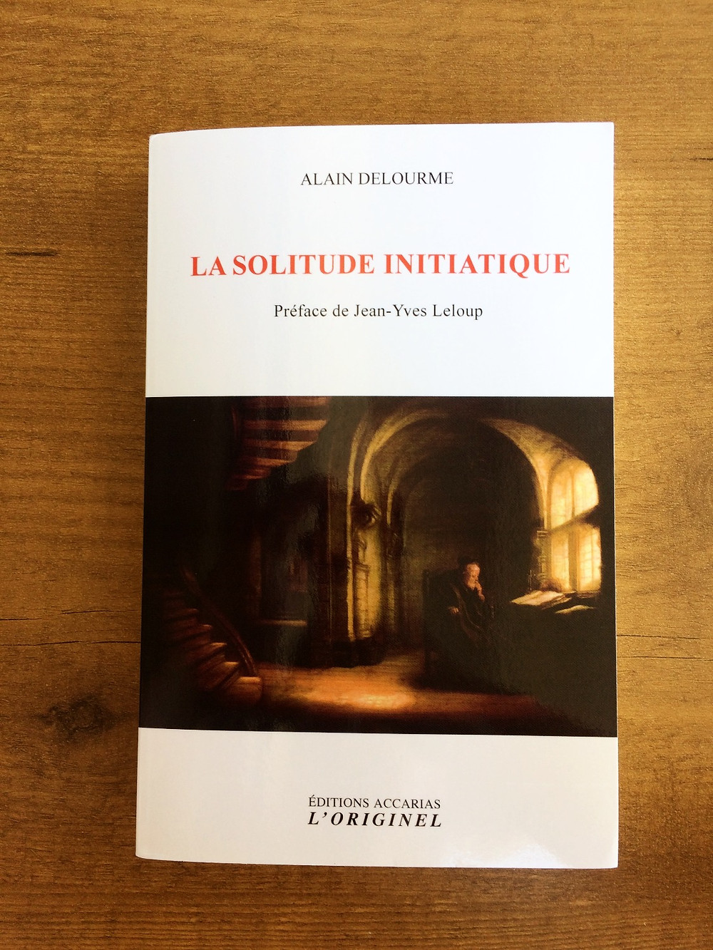 Photo du livre La solitude initiatique d'Alain Delourme (1)