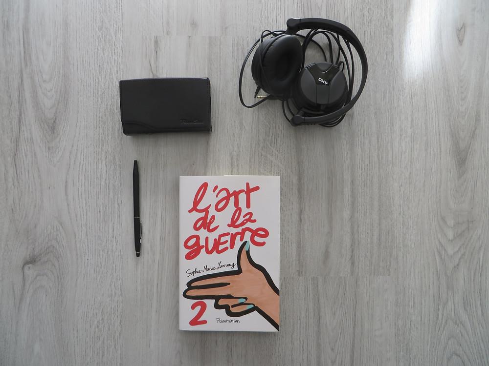 """Photo du livre """"L'art de la guerre 2"""" de Sophie-Marie Larrouy (2)"""