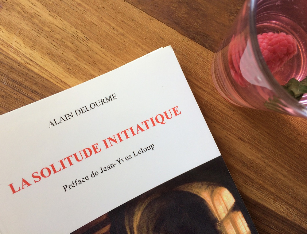 Photo du livre La solitude initiatique d'Alain Delourme (2)